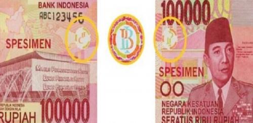 Heboh... Ada Simbol Palu Arit Mirip Lambang PKI di Uang 100 Ribu, Begini Penjelasan BI