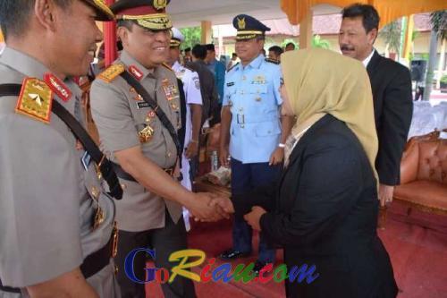 Ketua DPRD Septina Apresiasi Peningkatan Status Polda Riau Jadi Tipe A