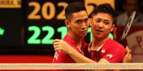 Ganda Putra Indonesia Juara Makau Terbuka 2017