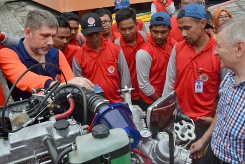BPBD Riau Datangkan Instruktur Rusia Ajarkan Pemakaian Alat Pemadaman Karhutla Rp24 Miliar