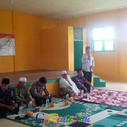 Reses III, Ketua DPRD Inhil Temui Masyarakat Tembilahan Barat