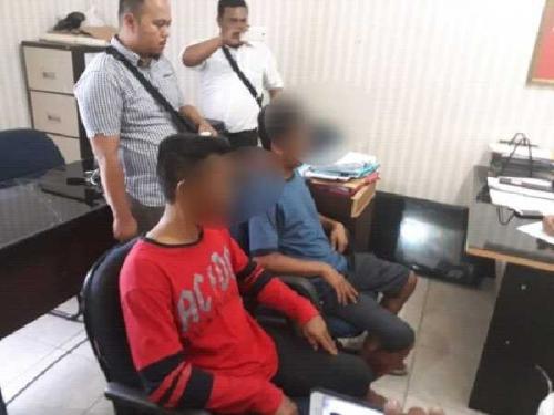 2 Orang Terduga Tekong yang Membawa 17 TKI dari Malaysia Menyerahkan Diri ke Polres Bengkalis