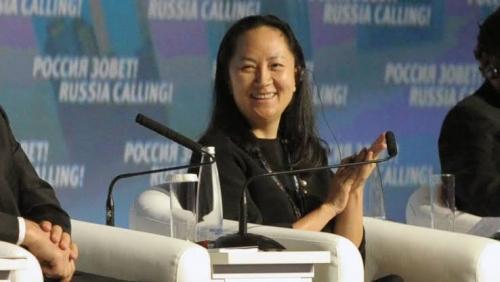 Bayar Uang Jaminan Rp109 Miliar, Putri Bos Huawei Dibebaskan Pengadilan Kanada