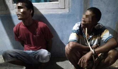 Kabur ke Jambi, Gaek 60 Tahun dan Rekannya Dibekuk Unit Reskrim Polsek Kelayang Inhu