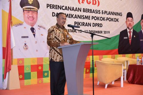 Bappeda Bengkalis Taja FGD Perencanaan e-Planing dan Pokir DPRD