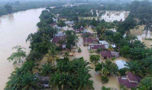 205 Rumah di Gunung Sahilan Terendam Banjir