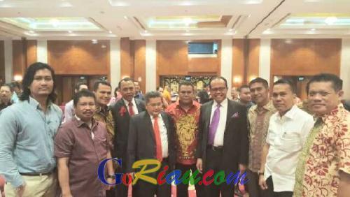 Amril Mukminin Hadiri Undangan Halal Bi Halal Peradi Pusat di Jakarta