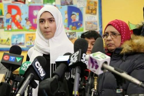 Gadis Kecil di Toronto Diserang Saat Berjalan ke Sekolah, Jilbabnya Direnggut dan Dipotong Pakai Gunting