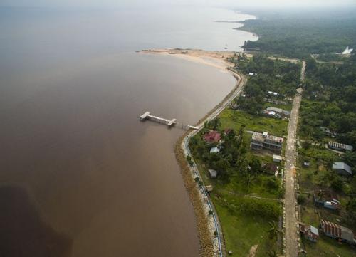 Jadi Kawasan Wisata Berbudaya Melayu, Pantai Puak Dumai Dapat Bantuan Kemenpar