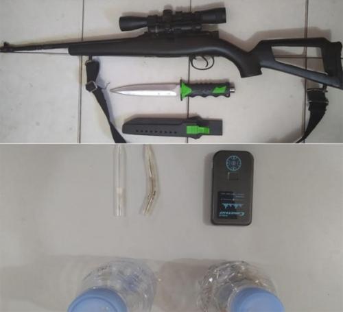 Miliki Senjata Api, Pengedar Sabu di Tanjung Kampar Lolos dari Target Penangkapan Polisi