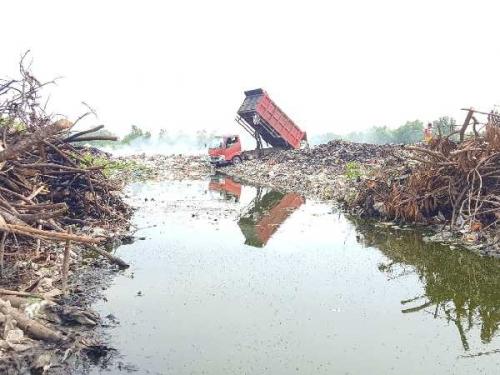 Truk Pengangkut Sampah Sempat Dihadang Warga, Begini Tanggapan DLH Meranti