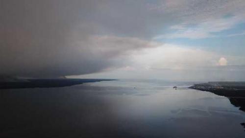 Dumai Berstatus Siaga Kabut Asap, KSOP Keluarkan Edaran Waspada Pelayaran