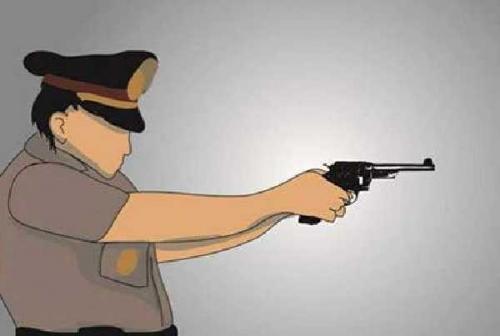 Ditembak Karena Melawan Polisi, Pengedar Narkoba di Inhu Kabur ke Kebun Sawit