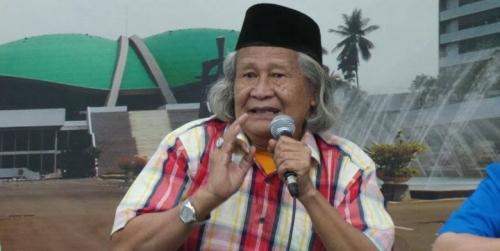 Tokoh Betawi Ridwan Saidi Sebut Jokowi Tunjukkan Psikologis Merasa Akan Kalah, Ini Alasannya