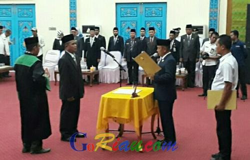Selain Pejabat Eselon II, Bupati Harris Lantik Sekda dan Dirut BPR Dana Amanah