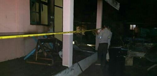 Kebakaran SMPN 1 Kuala Kampar, Begini Penjelasan Disdik Pelalawan Setelah Tim Turun