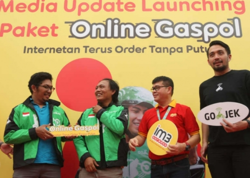 Internetan Terus Tanpa Orderan Putus, IM3 Ooredoo dan GOJEK Hadirkan Paket Online Gaspol