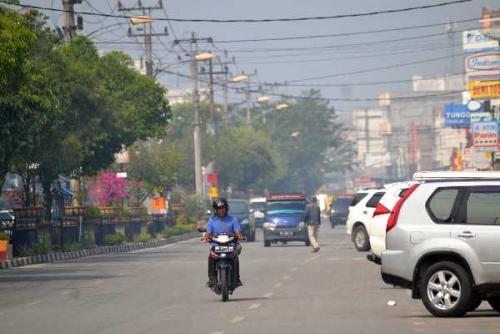Kabut Asap Kembali Selimuti Sebagian Wilayah Dumai