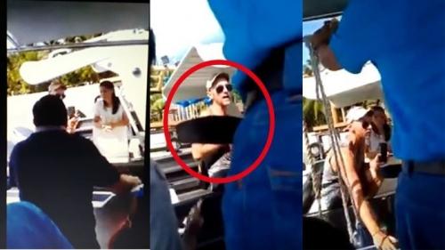Rombongan Anggota DPRD Sumbar Dihadang Bule Saat Akan Memasuki Resort di Mentawai