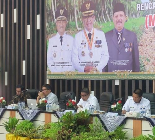 Buka Musrenbang RKPD, Wabup Inhil Jabarkan Usulan untuk Pembangunan di 2020 Capai Rp7 Triliun