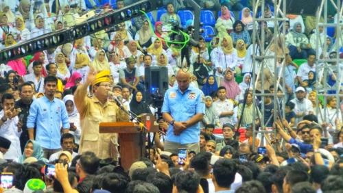 Prabowo Subianto: Elit Sekarang Gagal Mengelola Kekayaan Alam Kita
