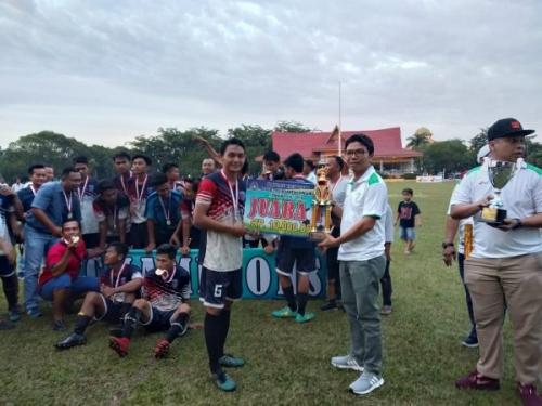 Porset FC Jauarai Kompetisi Divisi Utama Askab PSSI Kuansing
