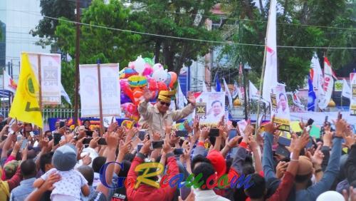 Di Riau, Prabowo Subianto Bilang Tidak Percaya Survei