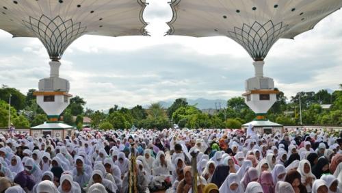 Ikuti Ijtima Ulama, Majelis Az-Zikra Pimpinan Ustaz Arifin Ilham Dukung Prabowo