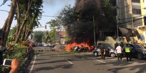 Selain di Santa Maria, Bom Juga Meledak di Gereja Pantekosta dan GKI Surabaya, Ada Ibu-ibu Tewas