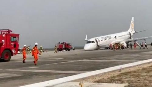 Mencekam, Pilot Daratkan Pesawat Tanpa Roda Depan, 89 Penumpang Selamat