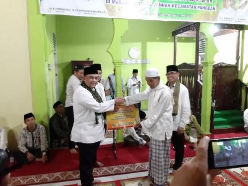Safari Pemprov Riau di Pangean, Bupati Mursini Sampaikan Sejumlah Usulan Pembangunan ke Wagubri Edy Natar