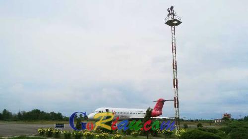Ini Penyebab Pesawat Milik Maskapai Transnusa Tujuan Bandara Halim Perdana Kusuma Delay di Dumai