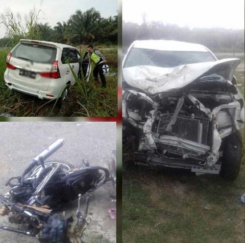 Braak! Terseret Mobil Hingga ke Luar Jalan, 1 Keluarga Meregang Maut di Jalur Lintas Riau - Sumut