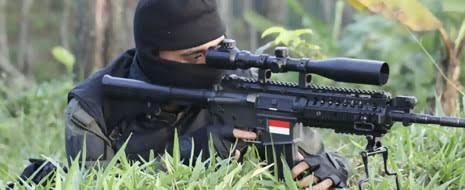 Berikan Rasa Aman ke Pemudik, 2 Regu Sniper Brimob Disebar di Jalan Lintas Sumatera