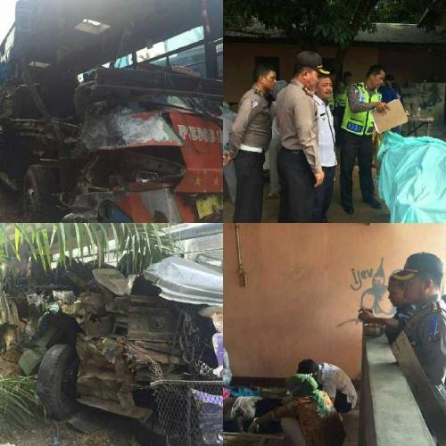 Korban Tewas Kecelakaan Maut Libatkan 3 Bus di Labuhanbatu Bertambah 3 Orang, Ini Foto-fotonya