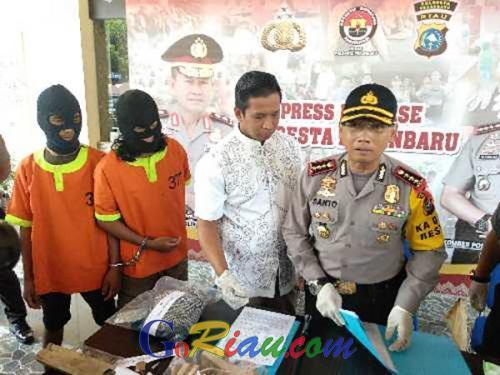 Polresta Pekanbaru Tunggu Kesimpulan Densus 88 Terkait Dugaan Pelaku Pembunuhan di Cipta Karya Terlibat Aliran Terlarang