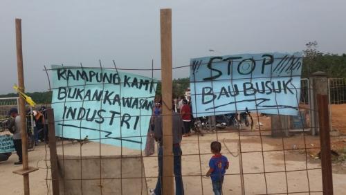 Masyarakat Rangau Gerah dengan PKS PT SIPP yang Keluarkan Bau Busuk dan Mengganggu Pernafasan
