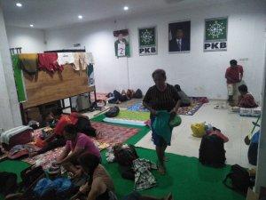 Ratusan Petani Jalan Kaki dari Sumut ke Jakarta, PKB Riau Beri Fasilitas Penginapan di Pekanbaru