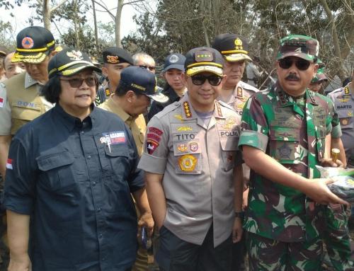 Kapolri Perintahkan Kapolda Tangkap dan Bongkar Aktor Pembakar Hutan