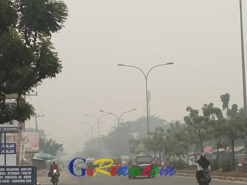 Riau Terdeteksi 239 Hotspot, 177 Diantaranya Diduga Titik Api