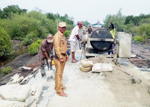 Desa Teluk Ketapang Fokus Bangun Infrastruktur