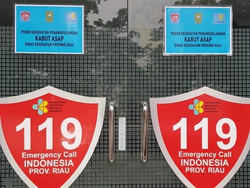 Diskes Riau Sediakan Layanan Cepat Ambulans Bagi Warga Pekanbaru yang Sakit Akibat Asap