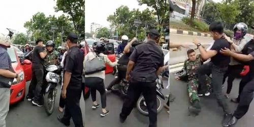 Lettu Satrio Ternyata Putra Laksmana Madya, Lawan Berkelahinya Cucu Mayor TNI