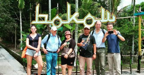 Terpikat Suasana Wisata Desa Bokor, Wisatawan Belanda Ingin Kembali Berkunjung Bawa Anak dan Istri