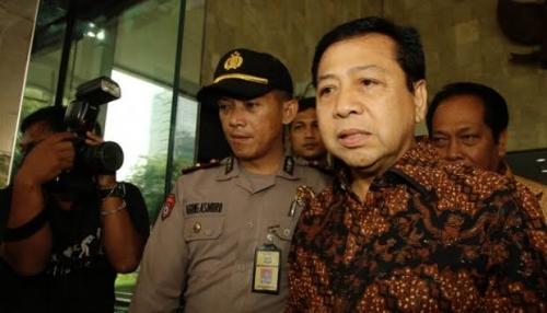 Mangkir Lagi Dipanggil KPK, Novanto Berdalih Belum Ada Izin dari Jokowi