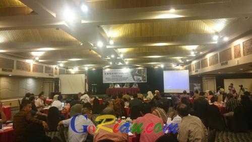 Workshop, Haris: Restorasi Model Penyelamatan Lahan Gambut di Riau
