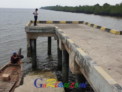 Speedboat tak Bisa Sandar di Dermaga Pelabuhan Penumpang Tanjung Buton Siak, Ini Alasannya dan Lokasi Sementaranya