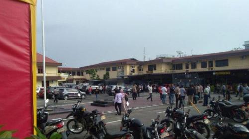 Ledakan Guncang Mapolrestabes Medan, Diduga Bom Bunuh Diri