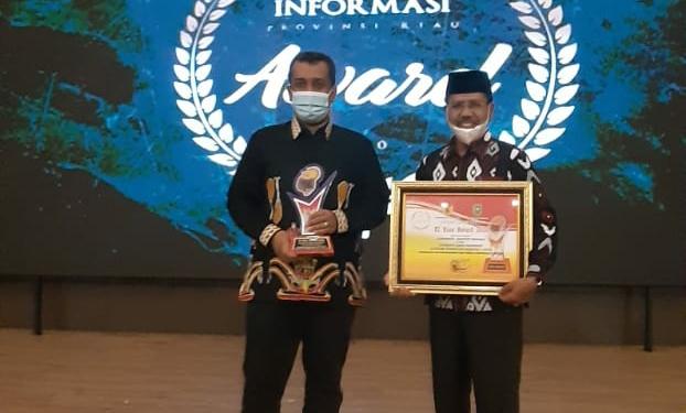 Kuansing Raih Penghargaan KI Riau Award 2020