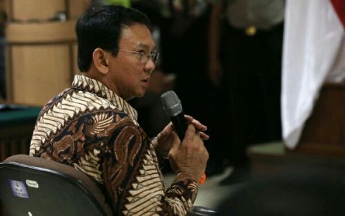 Sidang Dugaan Penistaan Agama, Ahok Menangis Bacakan Nota Keberatan